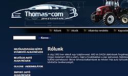 Thomas-Com Autoalkatreszek